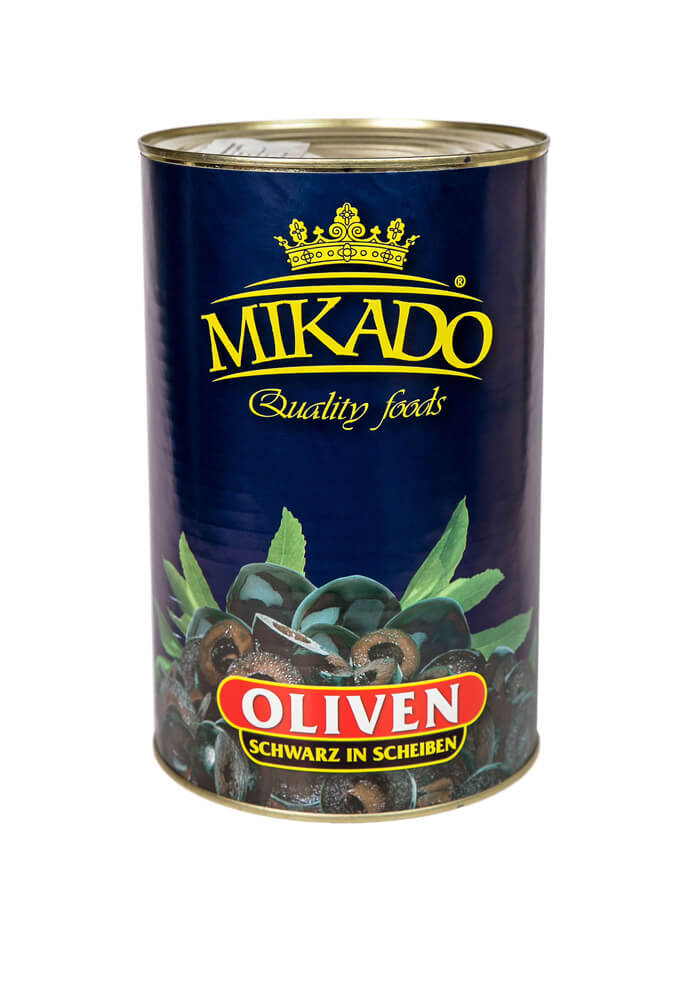 Black olives slices 4100g