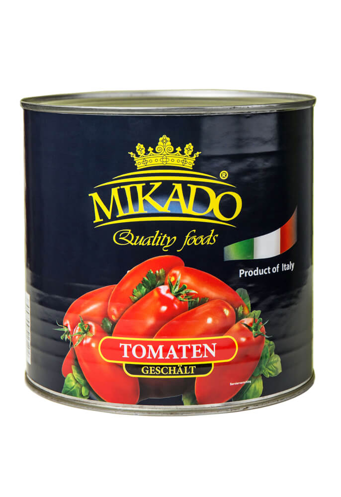 Peeled tomatoes in tomato juice 2500g