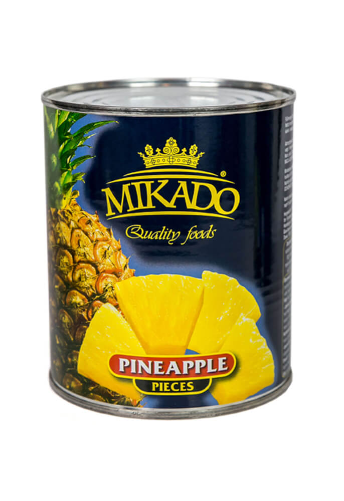 Pineapple pieces 820g